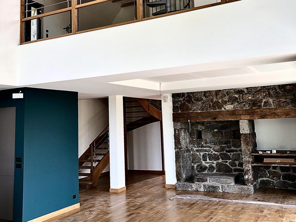 Peintures intérieures d'une maison traditionnelle