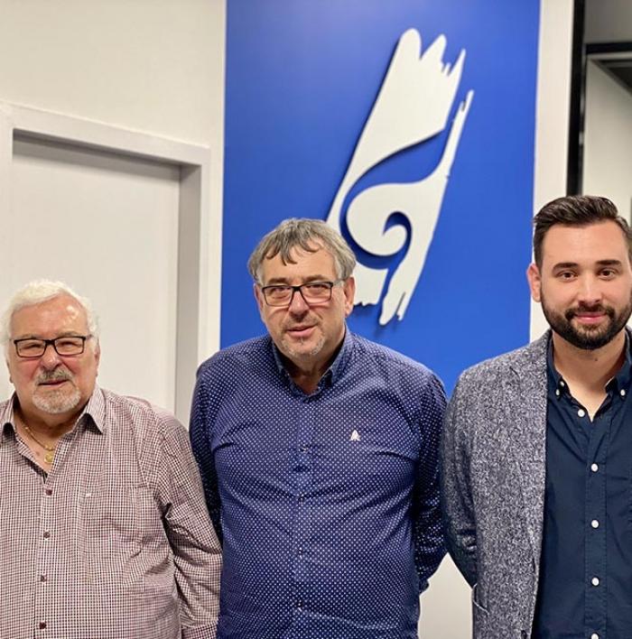 Albert, Alain et Yohan Gaston